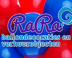 Rara-ballondecoraties